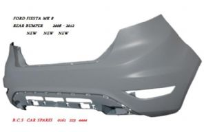 "FORD FIESTA  MK 8  REAR  BUMPER  2008 - 2012   STANDARD   NEW  "" IN PRIMER """
